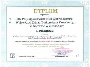 Dyplom-IHK